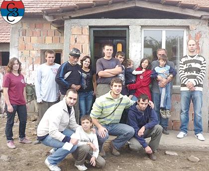 СЗС уручили помоћ породицама Љиљак