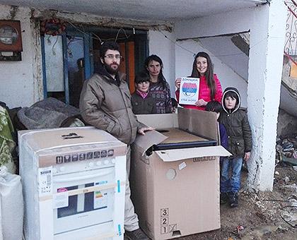 Испоручена помоћ Србима у Кучевишту