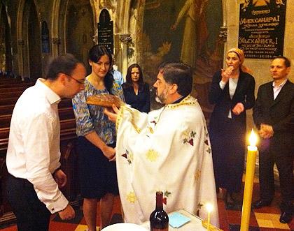 Прослава Св. Василија и у Њујорку