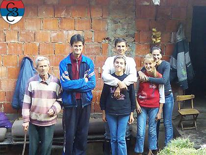 СЗС у посети породици Шарац