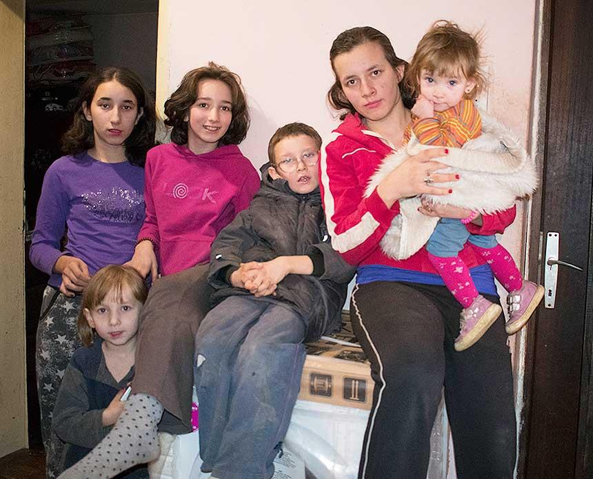 Помоћ породици Поповић из Лознице